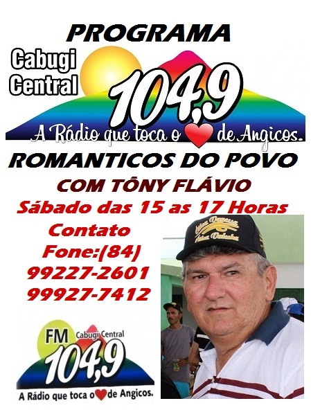 PROGRAMA ROMANTICOS DO POVO