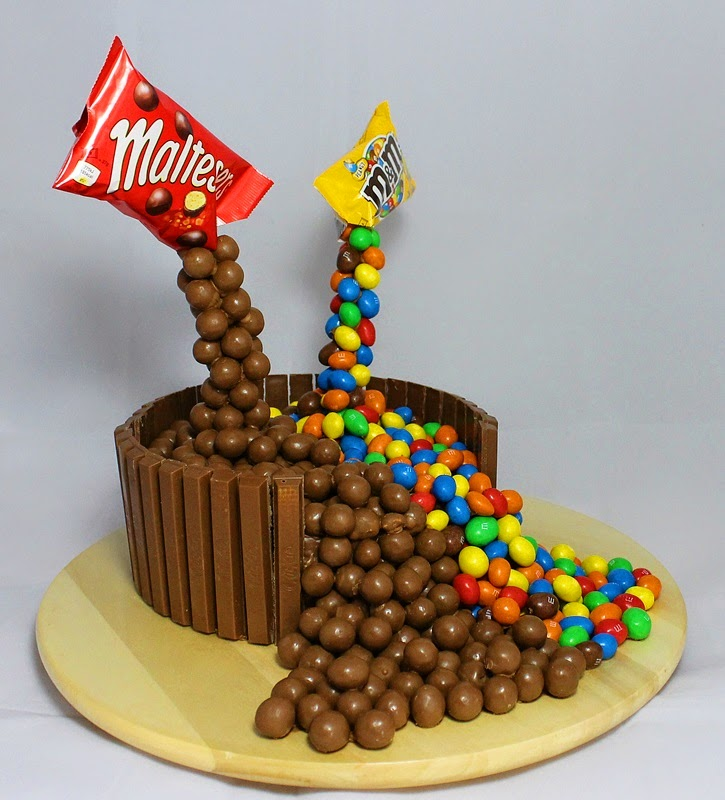Decorating Cakes With Maltesers