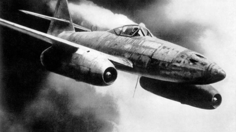 Sky fighter messerschmitt me 262