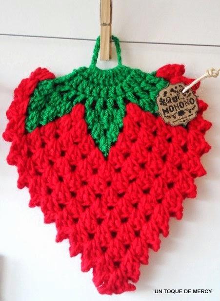 Accesorios De Baño A Crochet:UN TOQUE DE MERCY: ACCESORIOS PARA COCINA