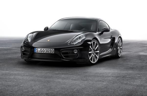 Porsche presentó el Cayman Black Edition 2015