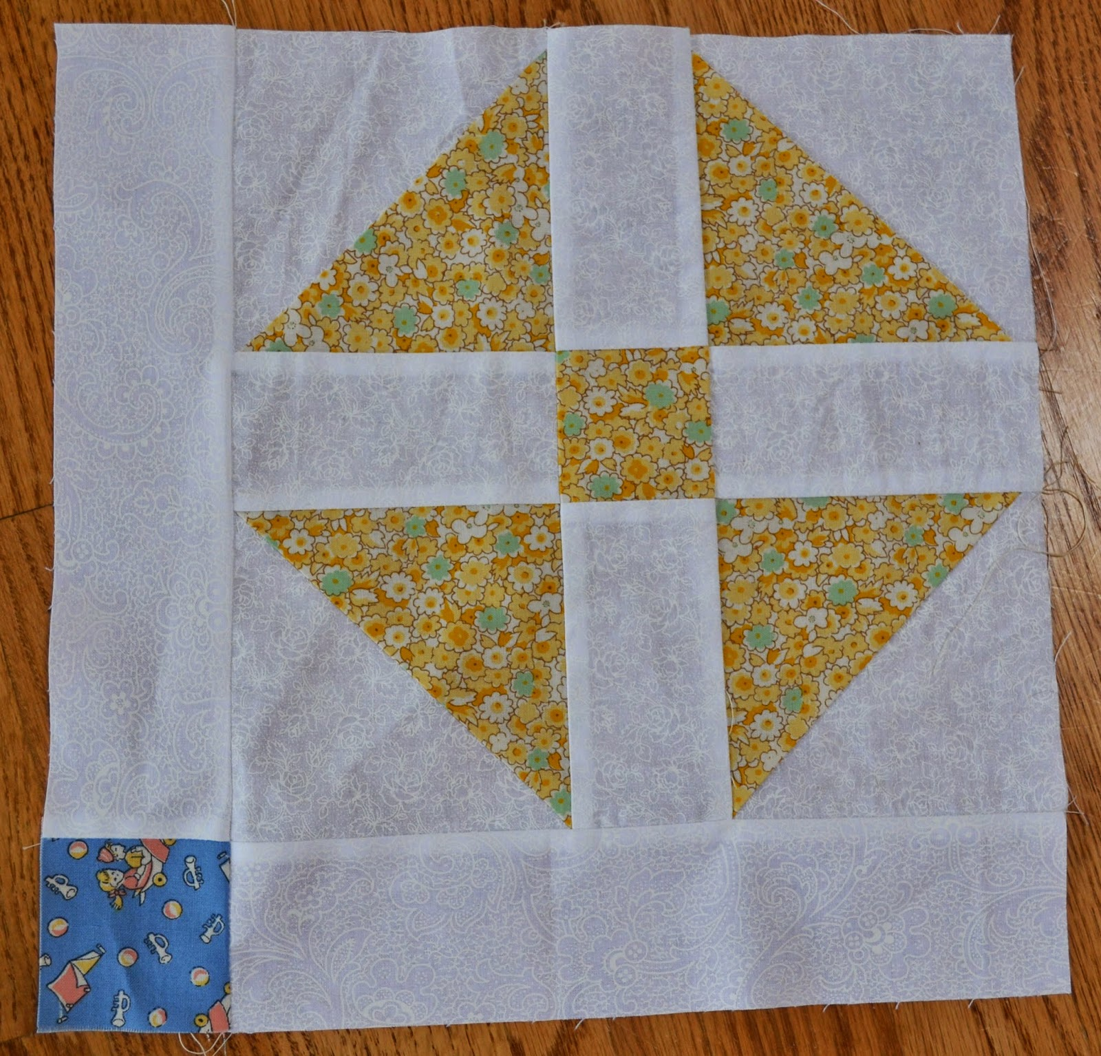 Then I Sewed A 2 1 Square To The End Of My Remaining Strips These Left Side Each Block Had 24 Blocks That Looked Like