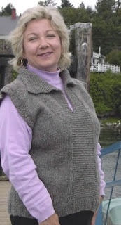 Knitting Pattern For Easy Vest - Free Knitting Patterns