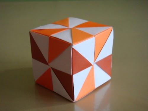 origami maniacs origami pinwheel cube