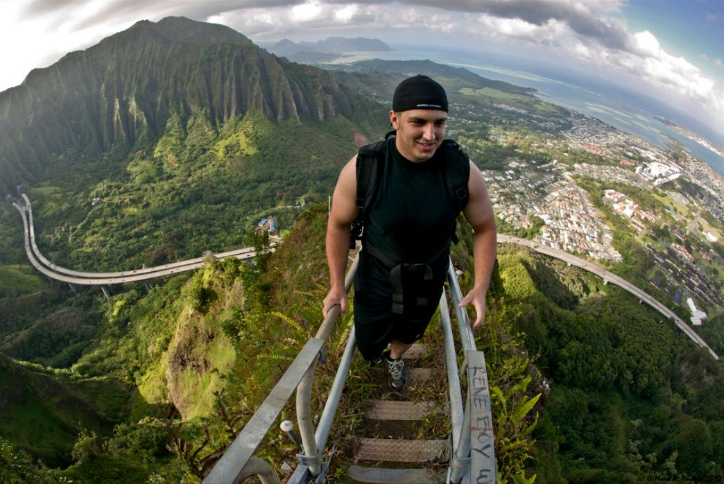 Haiku Stairs, Oahu, Hawaii