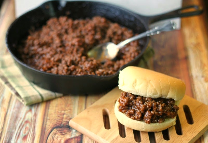 Crazy for Cookies and more: Mom's Sloppy Joe's