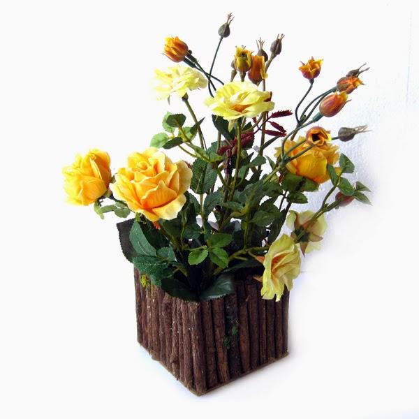 Decoração com plantas artificiais 4