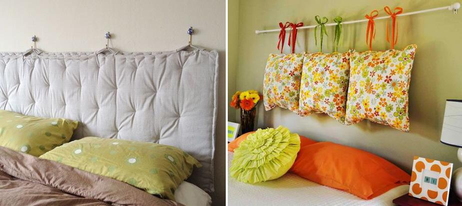 Fate home relookers incorniciate i vostri sogni - Testate letto con cuscini ...