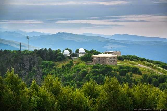 Excursion to the largest telescope in Eurasia