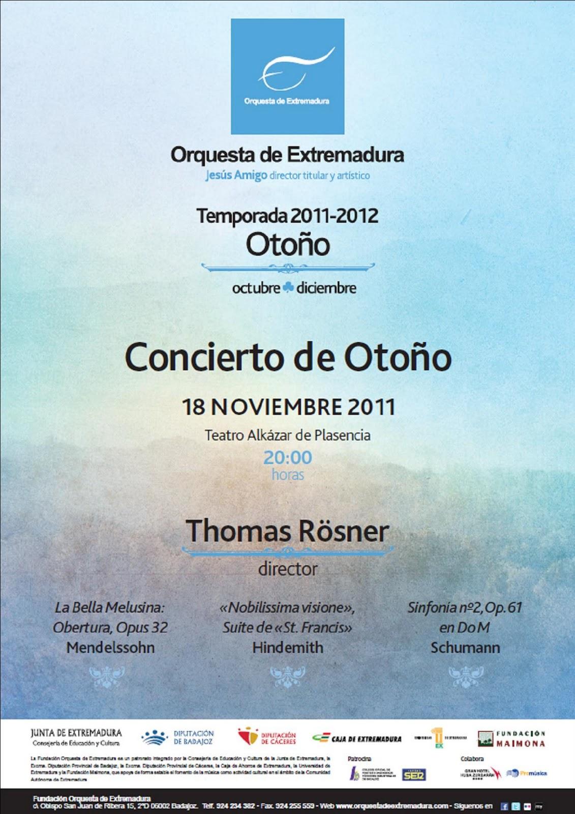 Concierto Orquesta de Extremadura