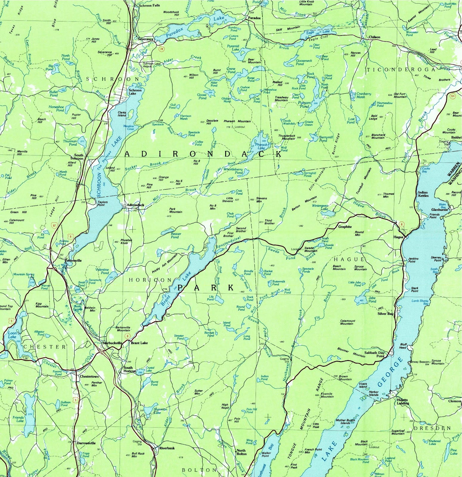 USGS Digitized Map Project Nearly Complete The Adirondack Almanack