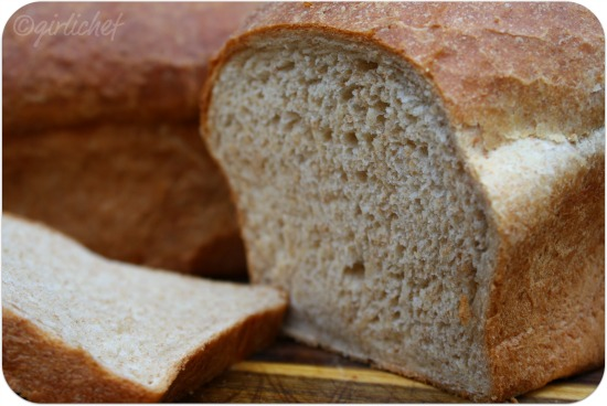 girlichef: Honey Wheat Bread ...that was almost a disaster.