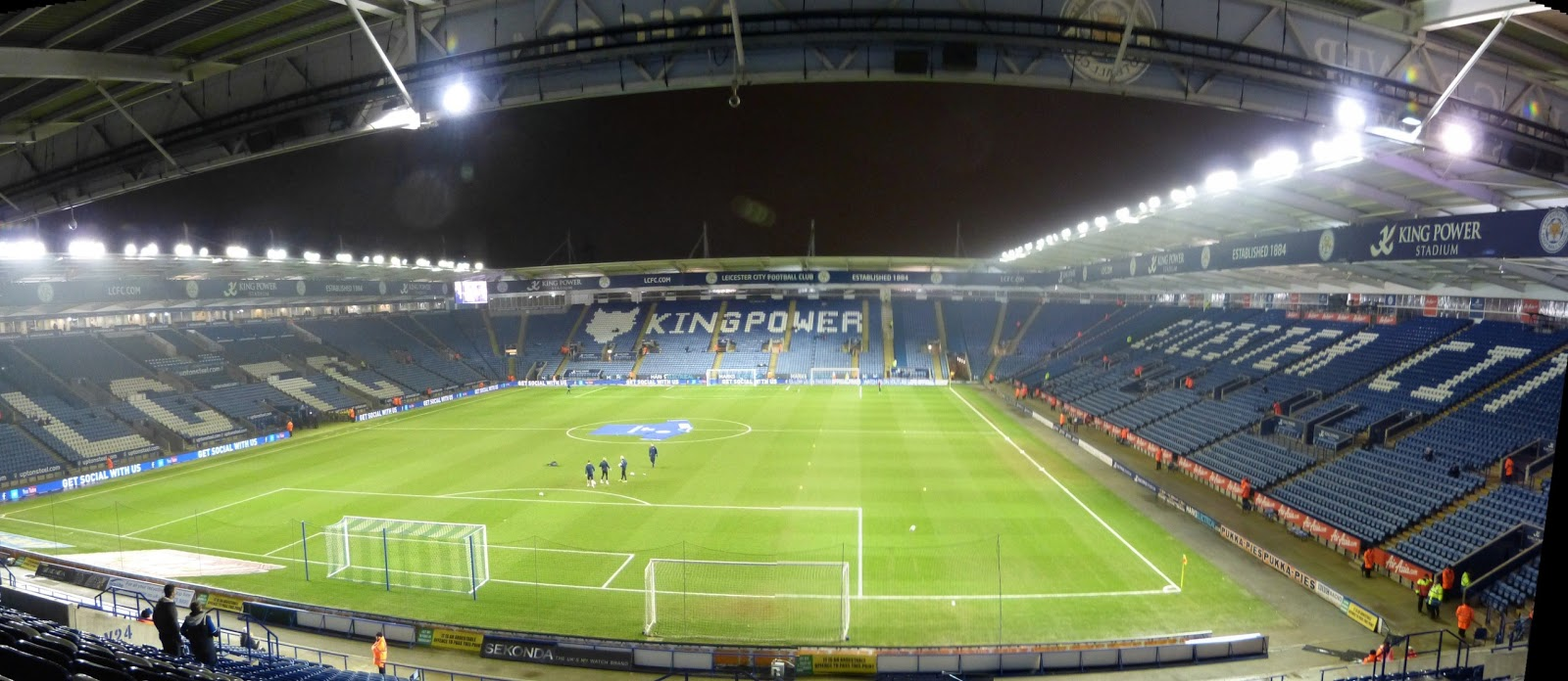 Caledonia Dreaming or Ian38018 Football Travels: Leicester ...