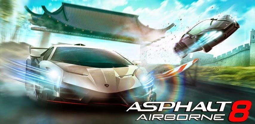 Asphalt 8: Airborne Apk Data Mod Unlimited Money