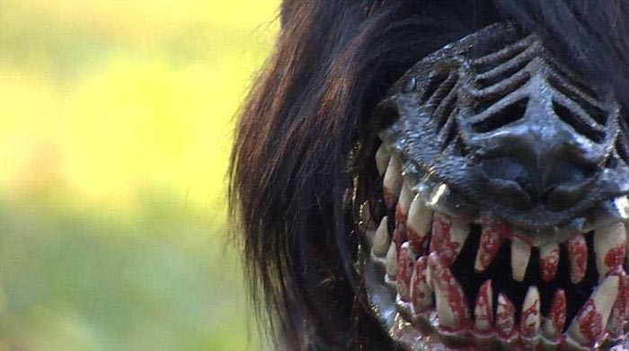 scary muzzle that turns any dog into a beast damn cool