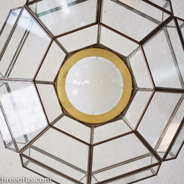#thriftscorethursday Week 40 | Instagram user: ilikeitlovely shows off this Light Fixture