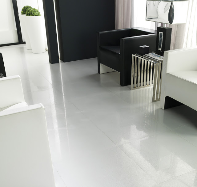 Marzua manhattan de porcelanosa suelos modernos que - Suelos porcelanicos imitacion marmol ...