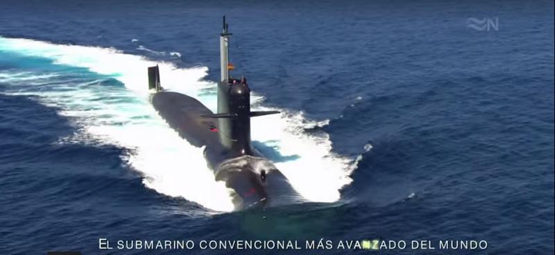 Desarrollo defensa y tecnologia belica v deo submarino for Interior submarino