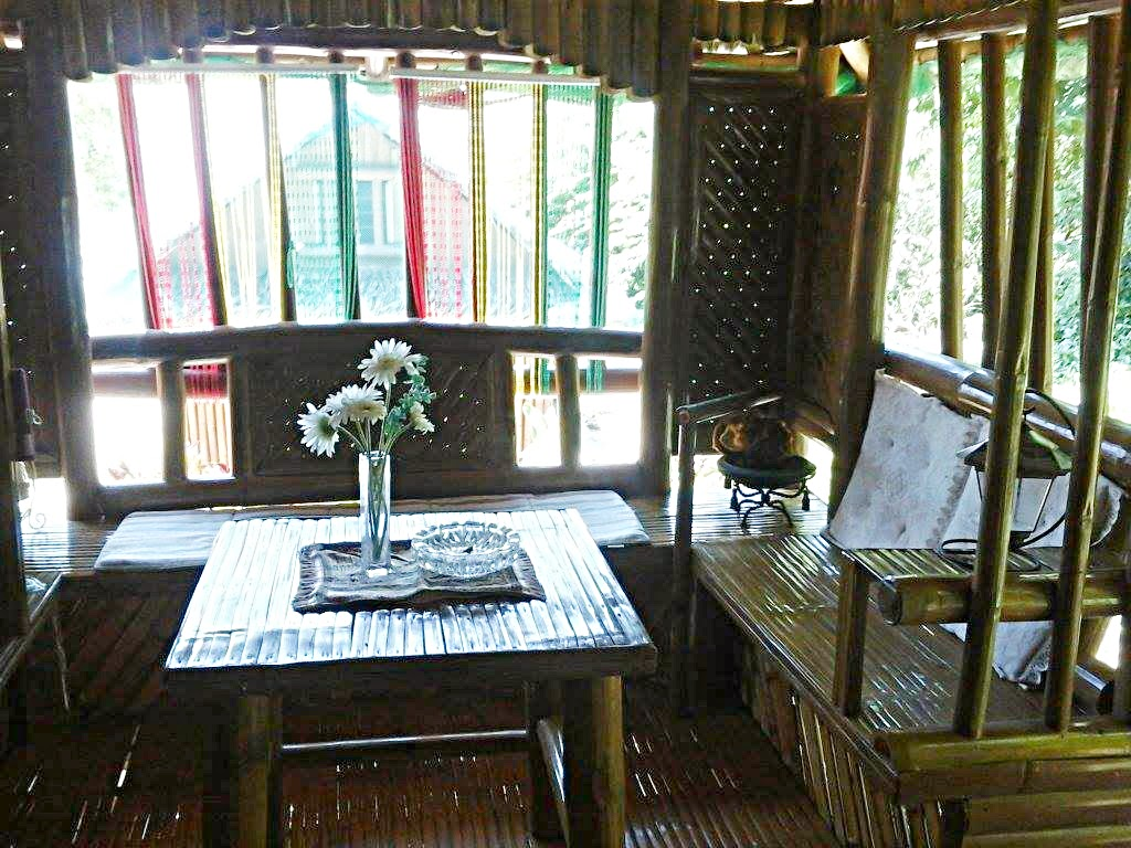 Nipa Hut Interior Interior of Our Nipa Huts