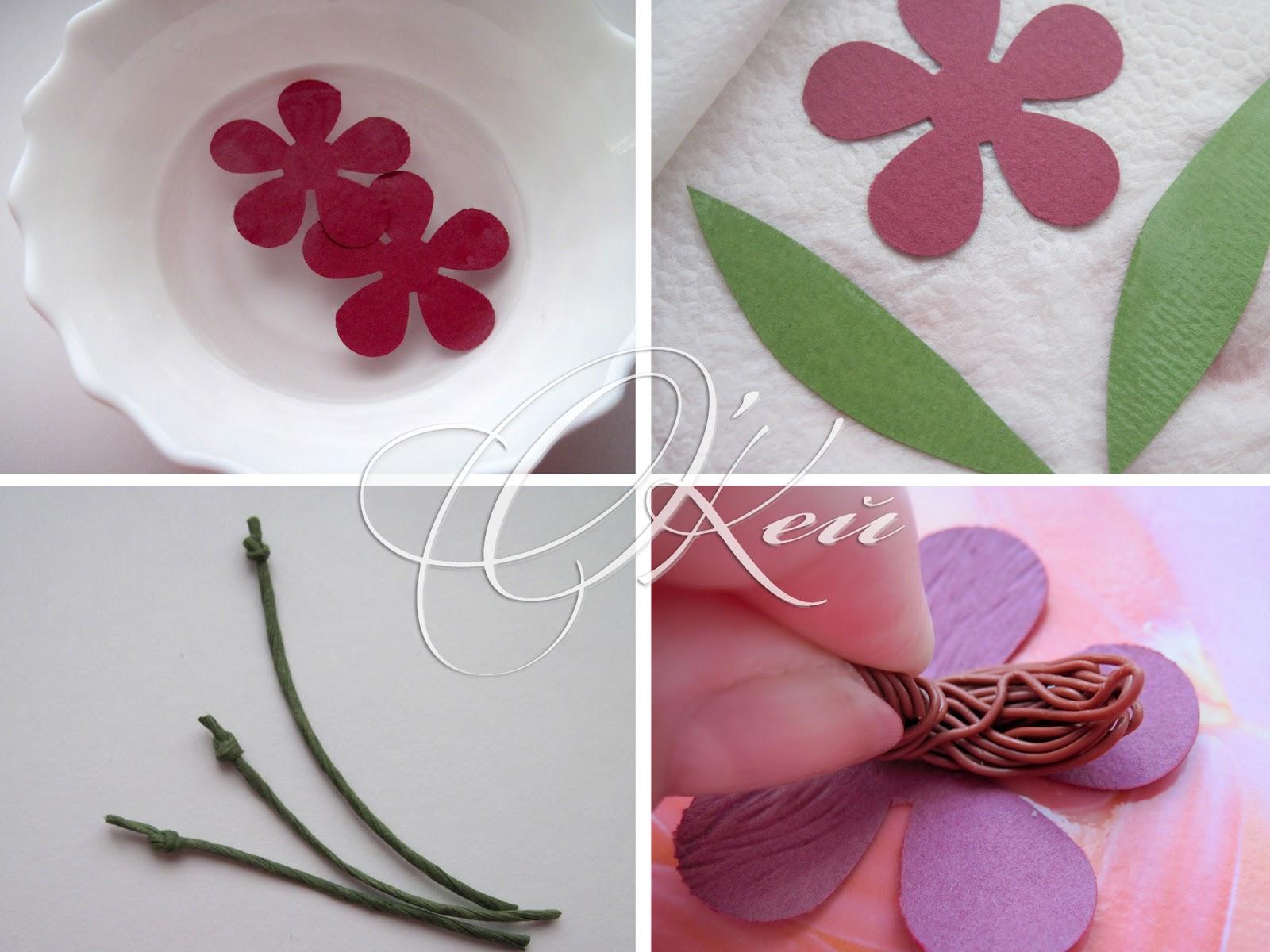 Как сделать из бумаги цветок без клея и ножниц видео