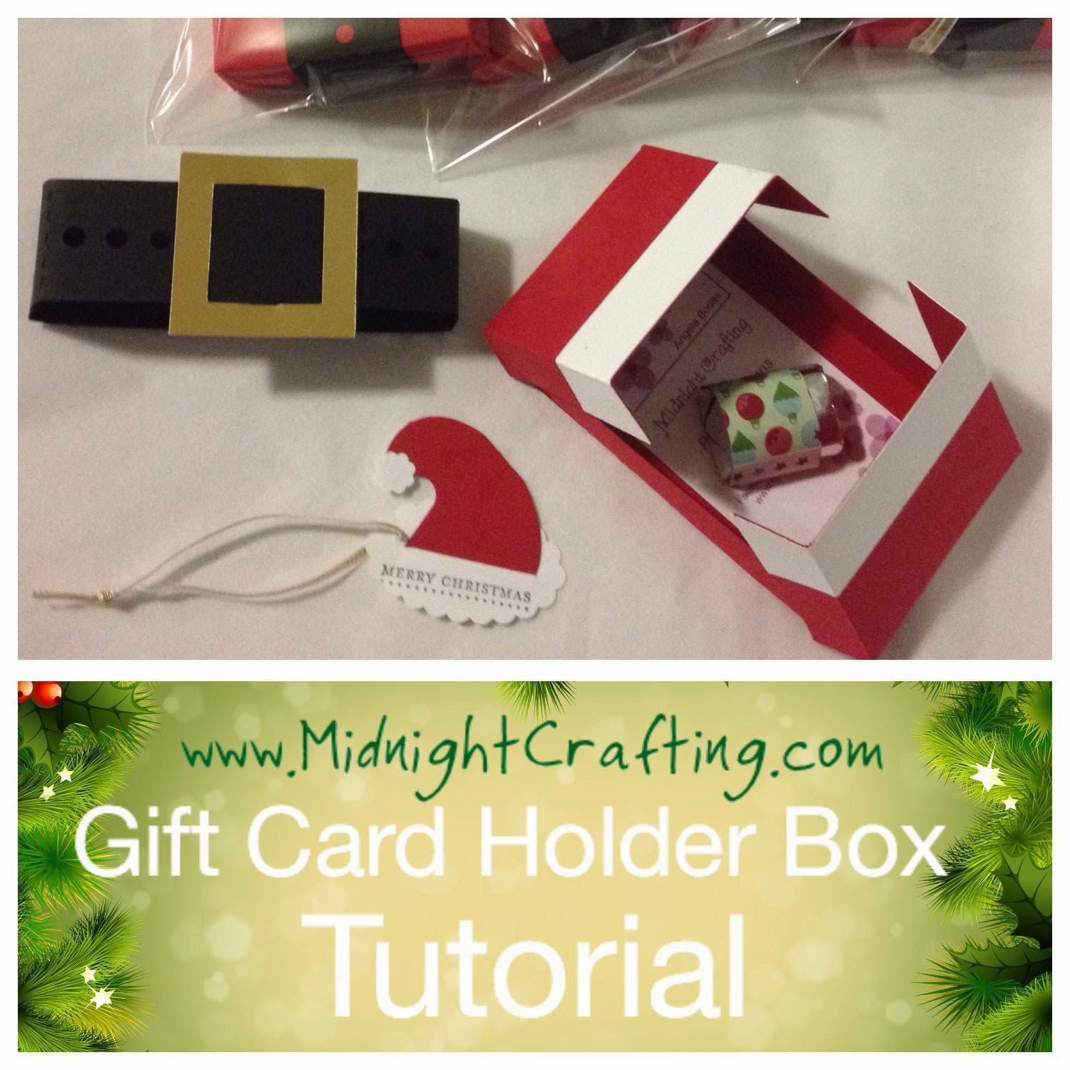 MidnightCrafting Gift Box Christmas