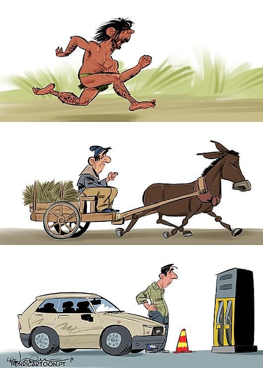 A evolução da espécie