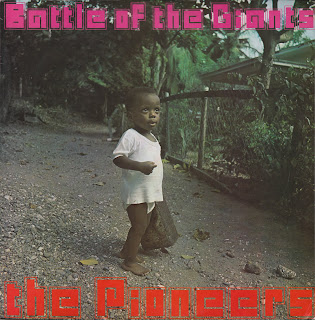 The Pioneers - Battle Of The Giants (1970 Lp)