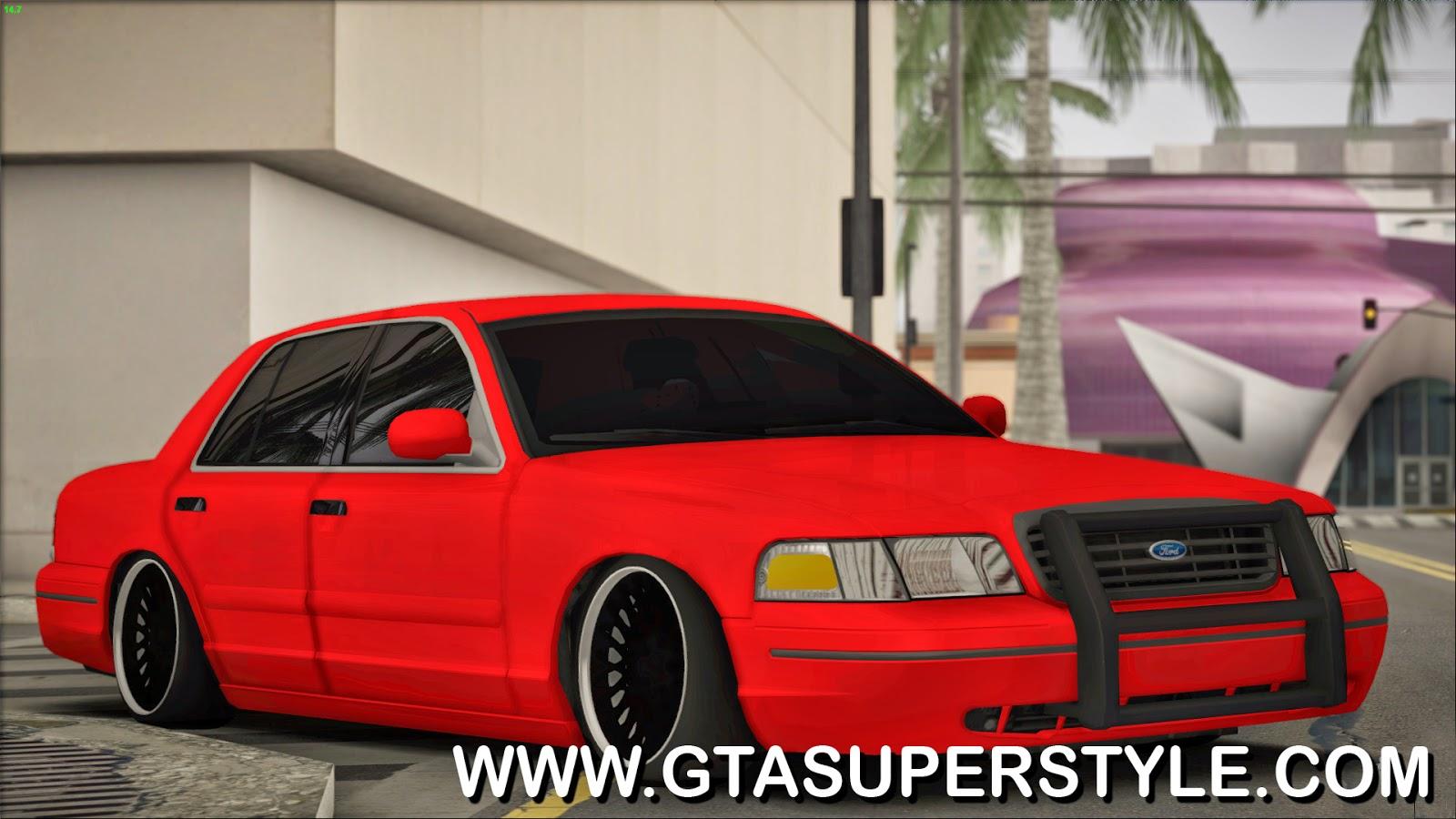GTA SA - Ford Crown Victoria Tuning