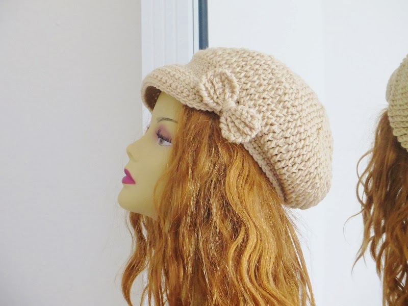 Crochet Dreamz: Taylor Newsboy Hat, Crochet Pattern for ...