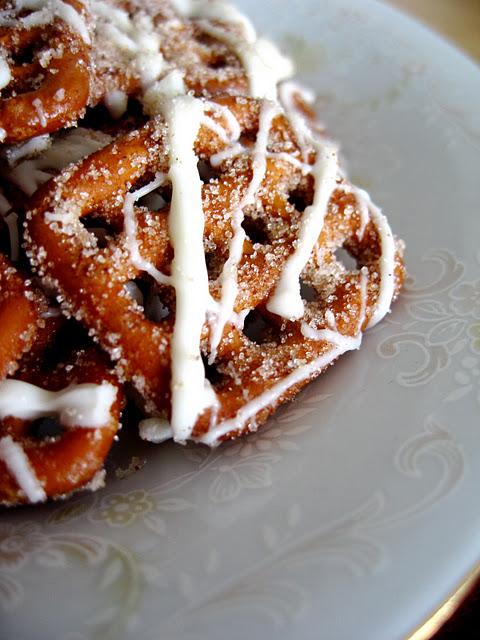 White Chocolate Cinnamon Pretzels | Cook'n is Fun - Food Recipes ...