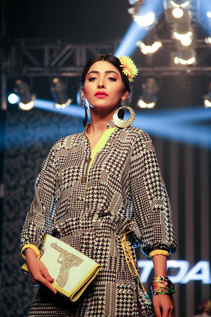Pakistani fashion designer Deepak Perwani's collection
