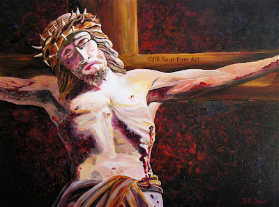 Crucifixion Art, Jesus On The Cross, Calvary Artwork