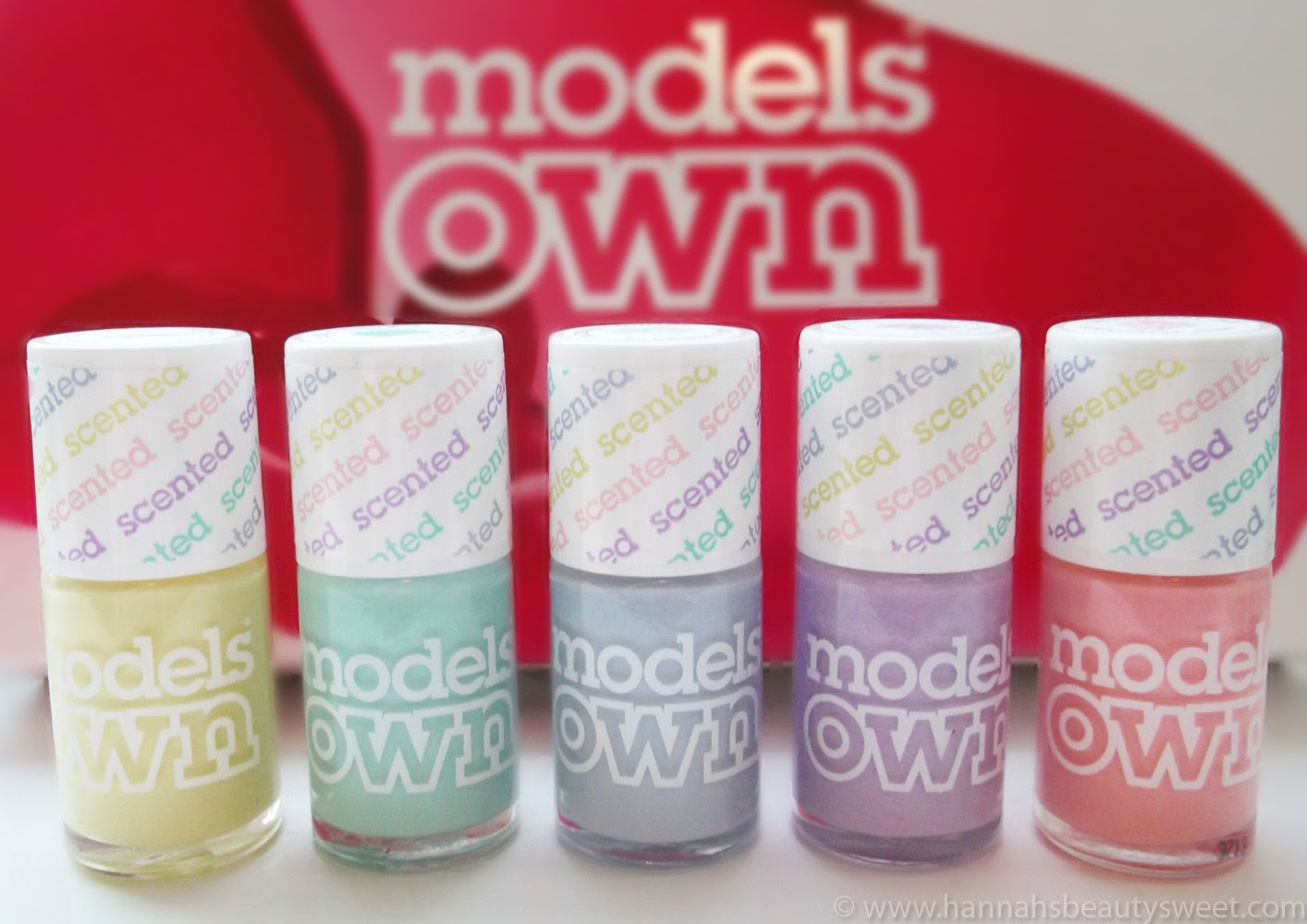 Models Own Fruit Pastels Scented Nail varnish