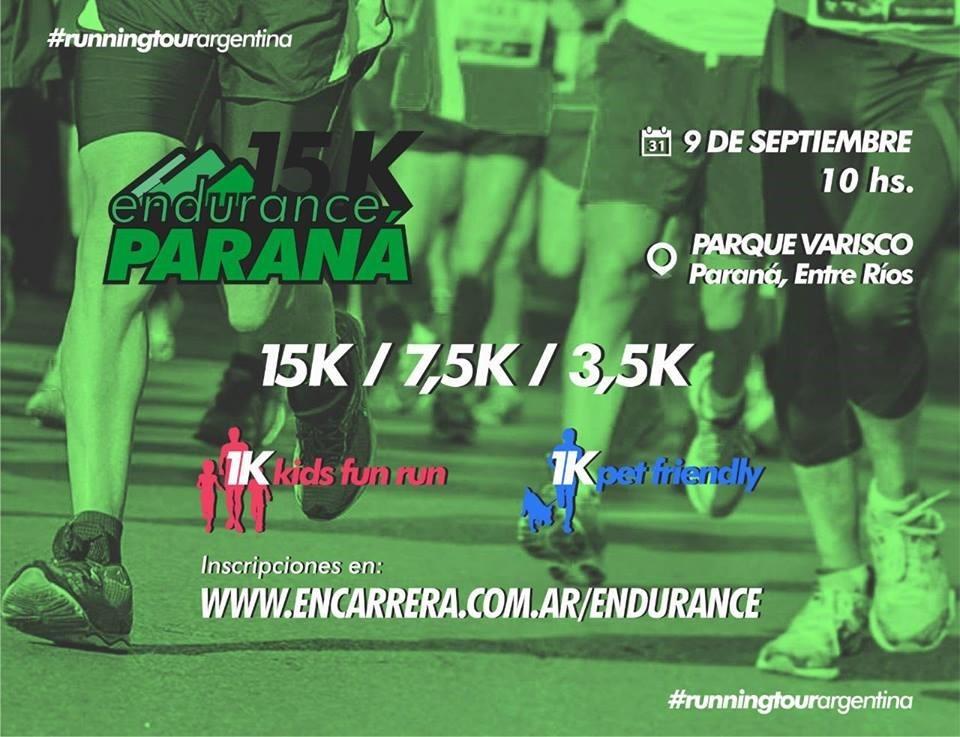 15 KM ENDURANCE PARANA (ENTRE RIOS)