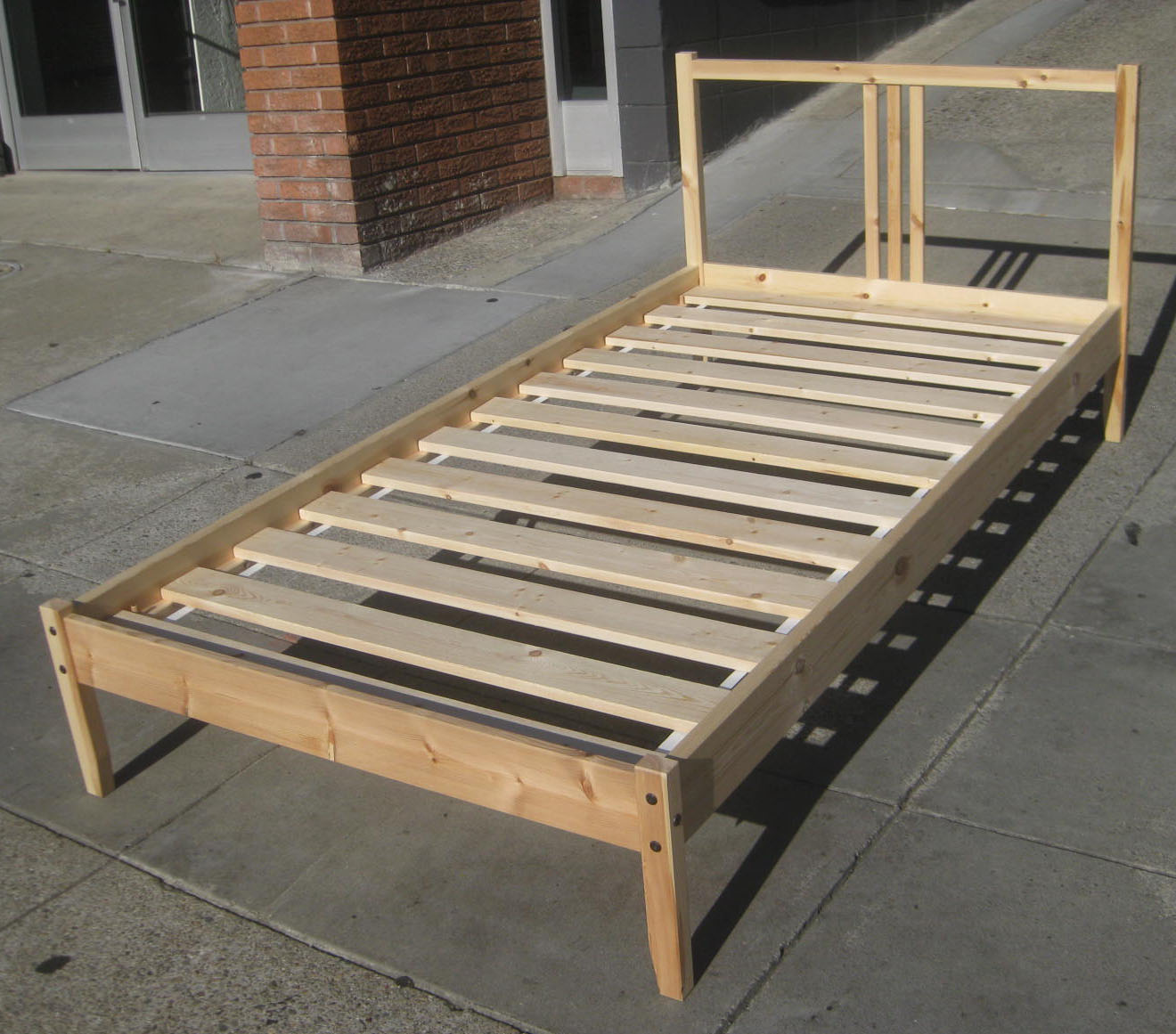 uhuru furniture collectibles sold twin ikea bed frame 45. Black Bedroom Furniture Sets. Home Design Ideas
