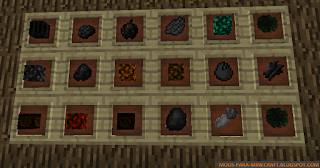 Fruit Charcoal Mod para Minecraft 1.7.10