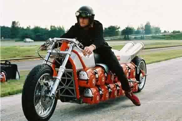 Justacargal dolmar chainsaw bike for Motor city powersports hours