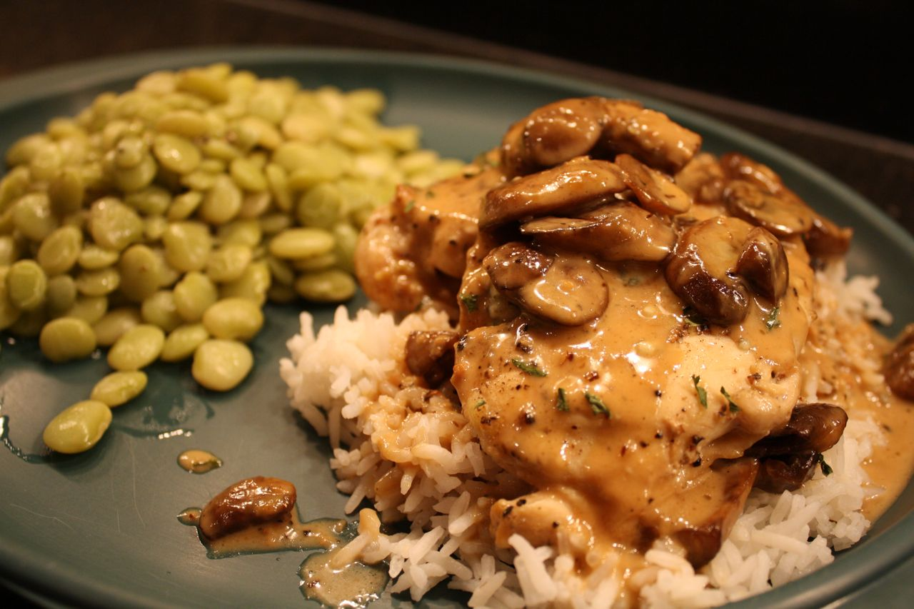 Meal No. 436: Chicken Marsala with Gorgonzola