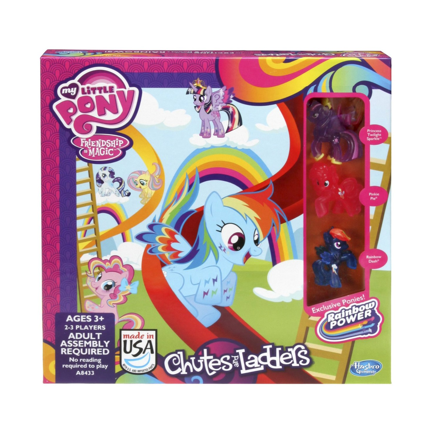 My Little Pony Chutes and Ladders Released On Amazon | MLP Merch