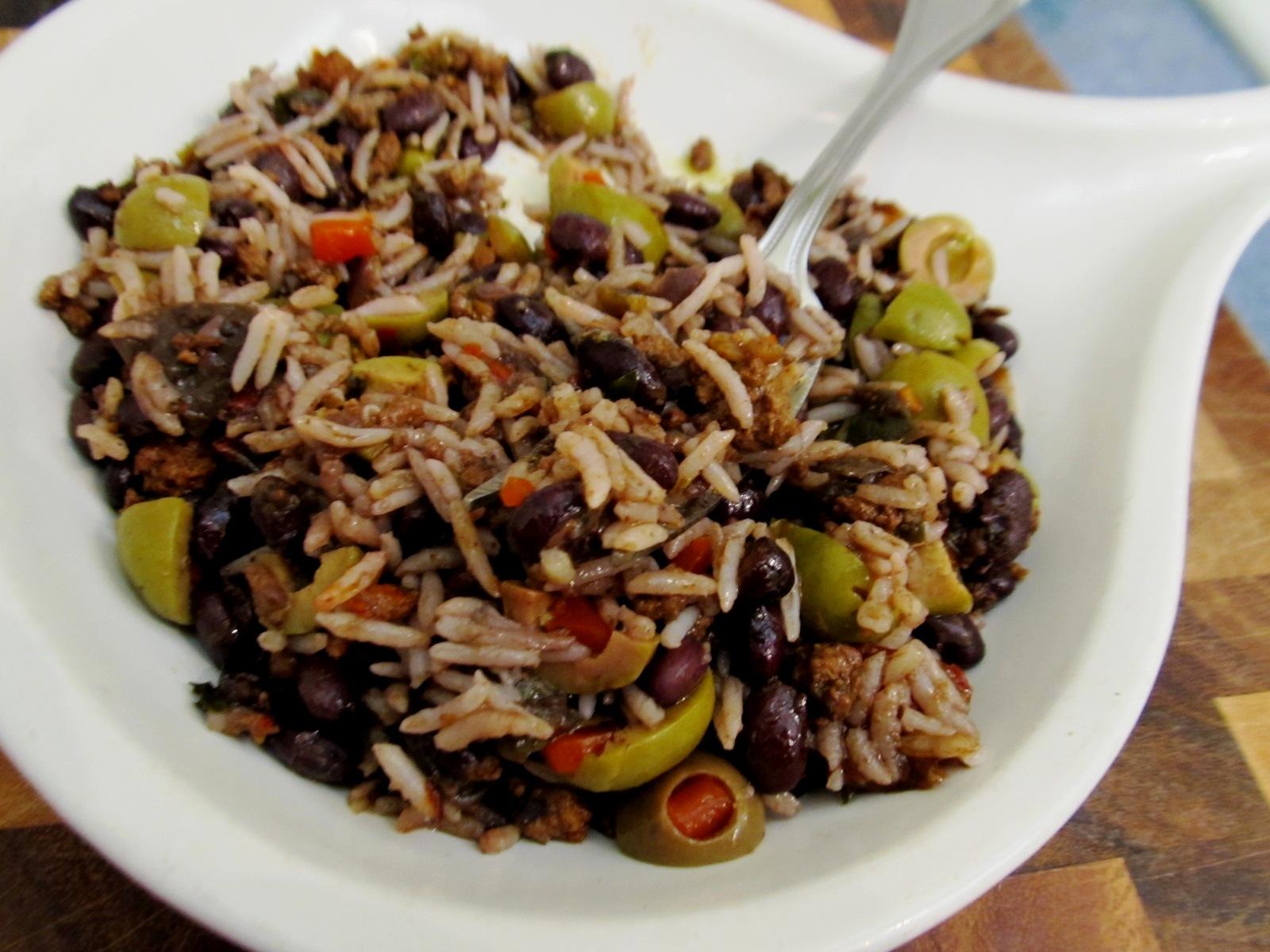 Cuban Beans And Rice Recipe — Dishmaps