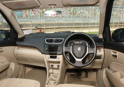 2013 Suzuki Swift Dzire Interior