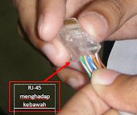 Trik Cara Memasang RJ45 Kedalam Kabel UTP dengan Susunan Cross dan Straight