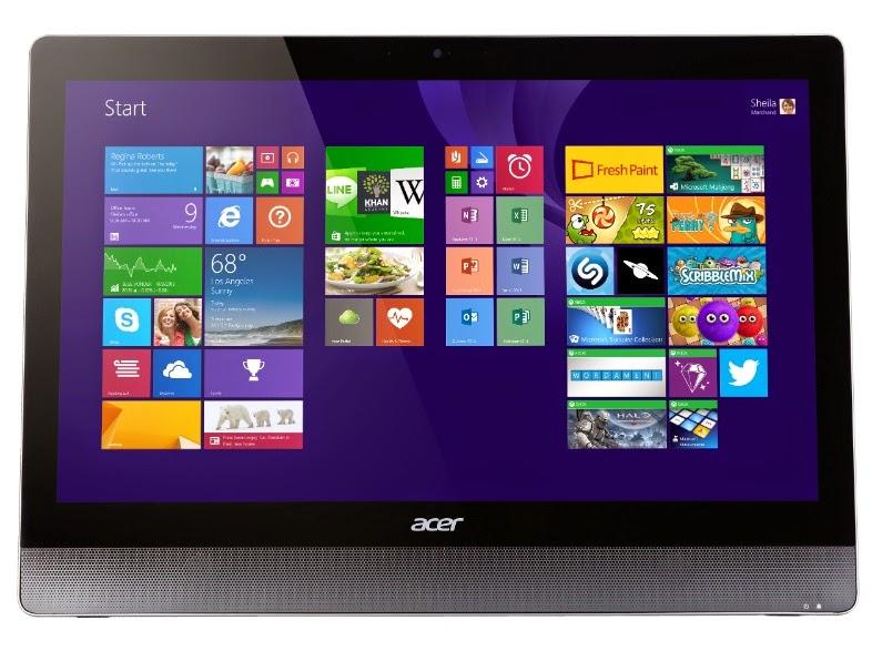 Acer Aspire U5-620 передняя сторона