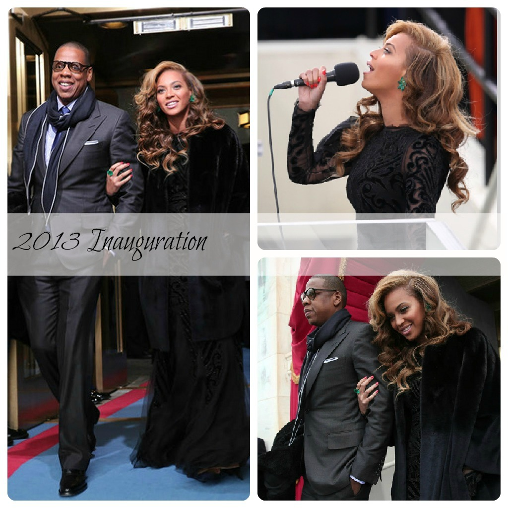 Beyonce Performs National Anthem at 2013 Inauguration