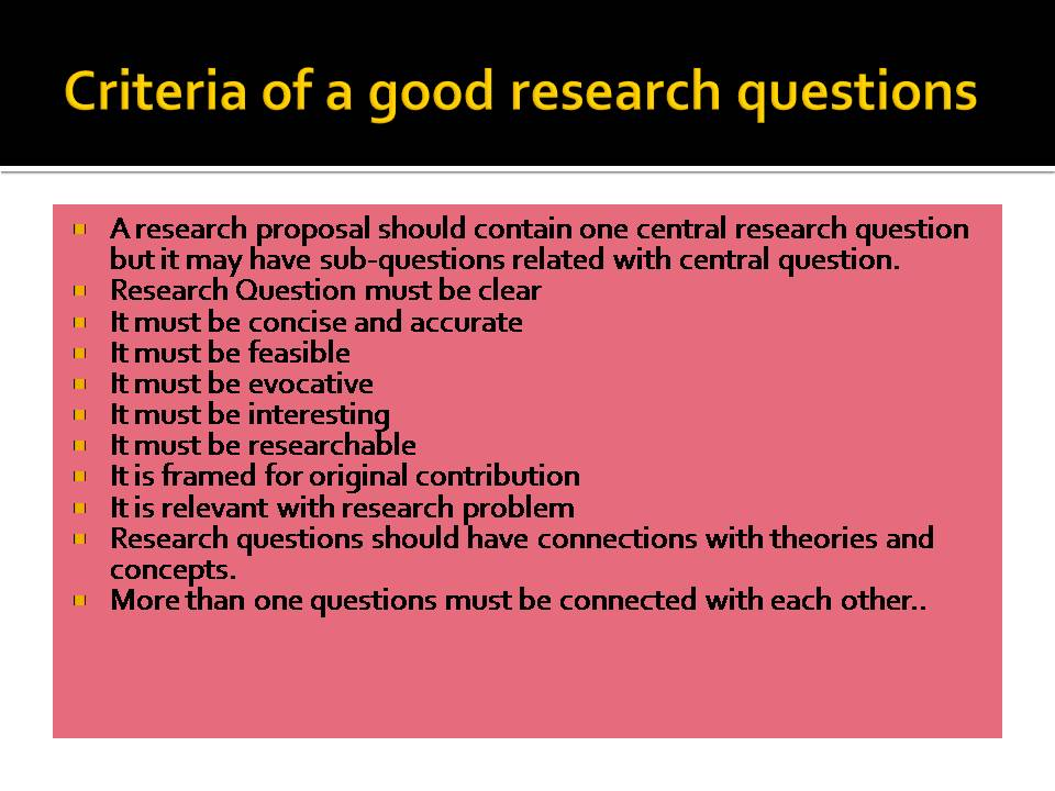 dissertations - research questions Get all your questions answered about proquest dissertations and theses.