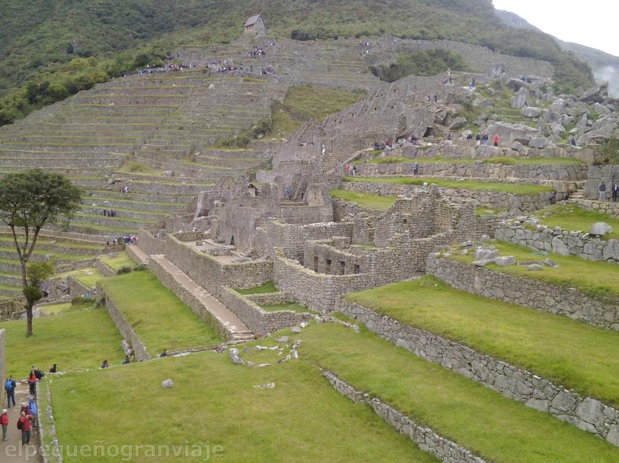 Ciudadela y terrazas Machu Picchu