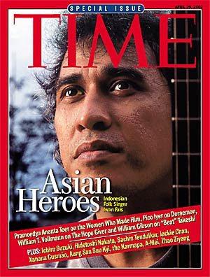 Cover Iwan Fals Majalah TIME