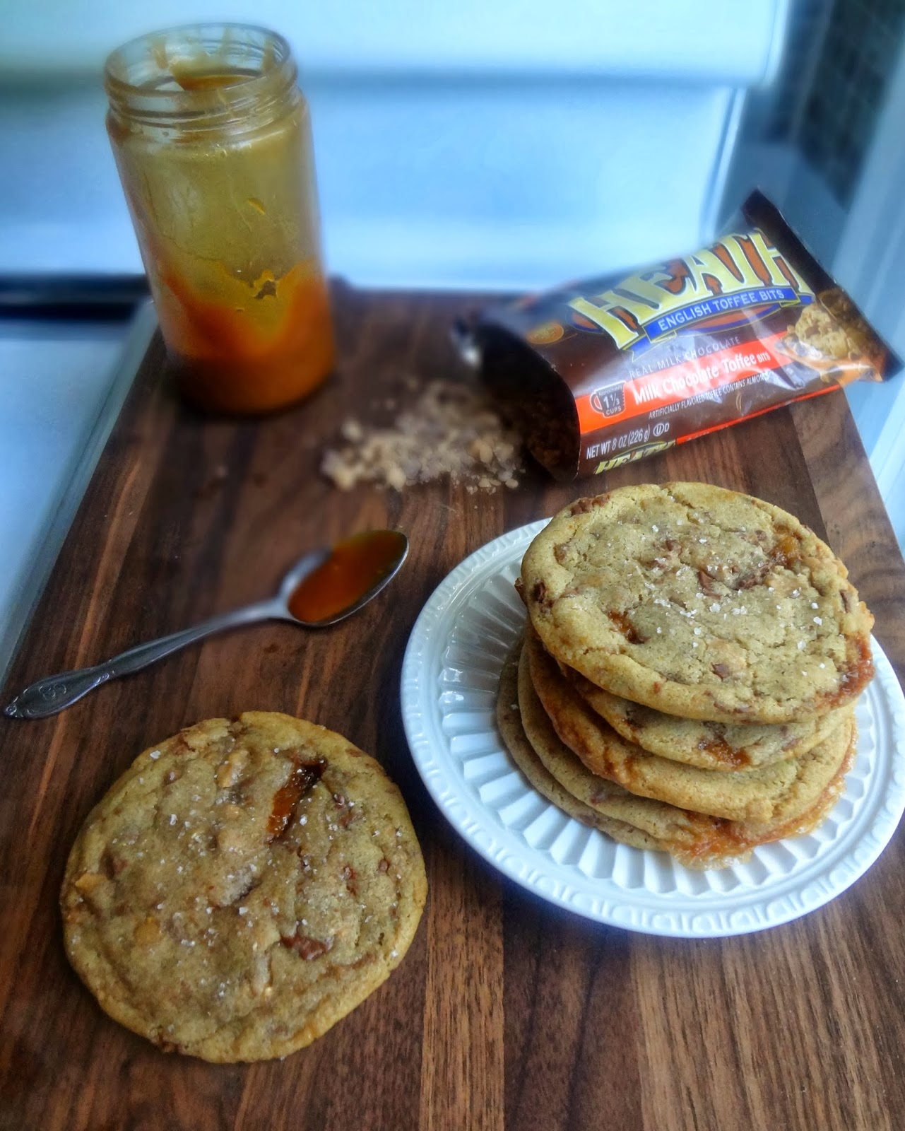 The Cooking Actress: Brown Butter Salted Caramel Stuffed ...