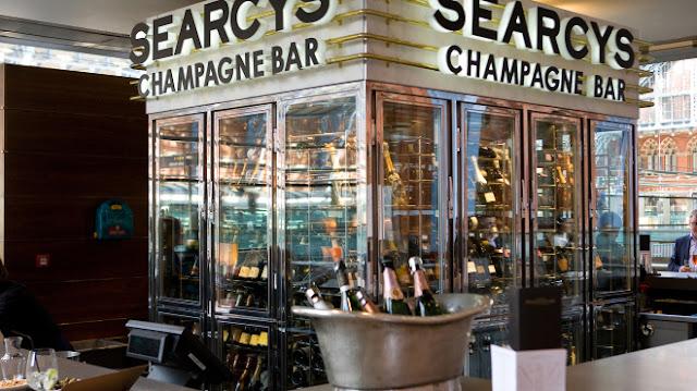 Searcy's Champagne Bar - St Pancras