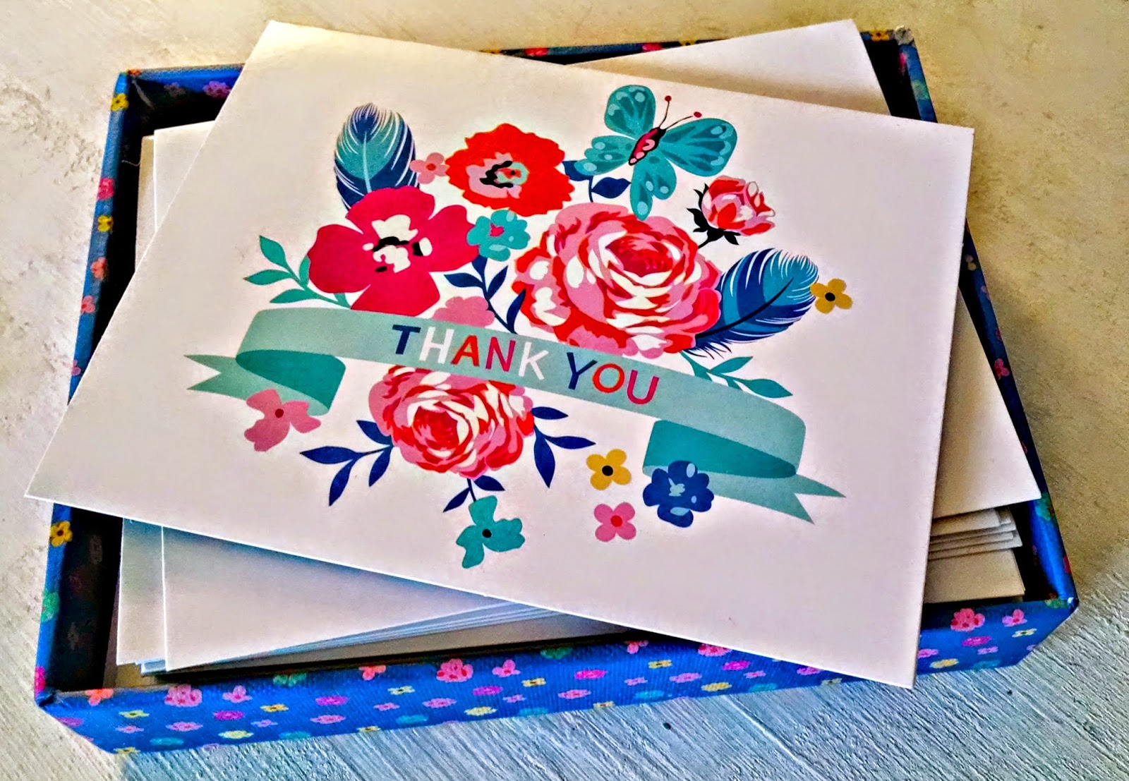 Thank you, cards, floral, stationary, writing, Ray of Sunshine, cute